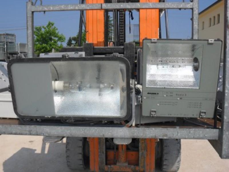 Plafoniera 2x58w Con Emergenza : Plafoniera torino illuminazione w sla ce bianco